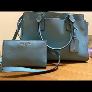 Kate Spade Cameron Satchel and Matching Wallet